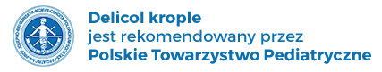 Delicol krople jest rekomendowany przez Polskie Towarzystwo Pediatryczne